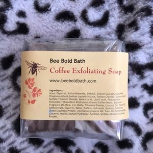 Other - Coffee exfoliating soap handmade